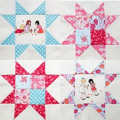 Stars to add to fussy cut courthouse steps quilt