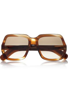 996cb07c457 Cutler and Gross Oversized square-frame acetate sunglasses Cool Sunglasses