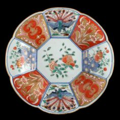 This finely decorated Chinese antique Imari plate is available to buy now online. Ceramic Texture, Antique Pottery, Chinese Antiques, Fine Porcelain, Unique Gifts, Oriental, Objects, English, Japanese