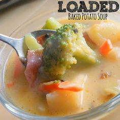 Sunny Days With My Loves - Adventures in Homemaking: Loaded Baked Potato Soup