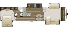 Keystone RV 337FLS floorplan