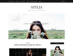 Szablon blogger, blogspot: STYLIA