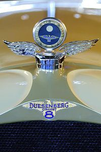 Vintage Hood Ornaments Photograph - 1926 Duesenberg Model A Boyce Motometer by Jill Reger