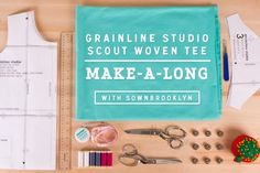 Scout Tee Sew a long