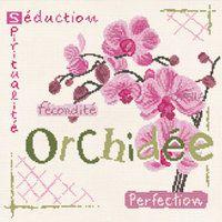 LILI POINTS - L'Orchidée (J002) - Des Filles et une Aiguille