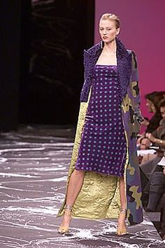 Emanuel Ungaro Fall 2000 Ready-to-Wear Fashion Show Collection
