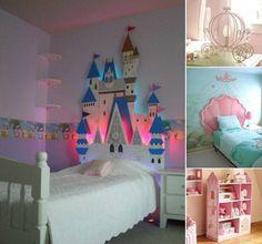 Decoracion de habitacion infantil de princesas