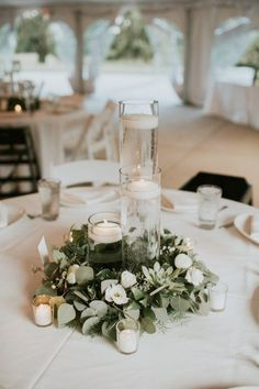 51 best wedding round table images flower arrangements candelabra rh pinterest com
