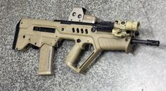 IWI Tavor with EOTech 553 and Surefire 720v #guns #tactical