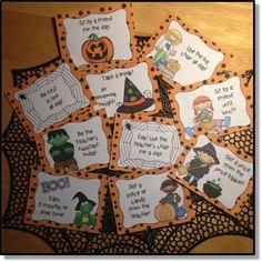 Halloween Behavior Incentive Tickets Help Behaviors Just When You Need it Most