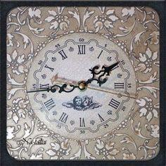 Часы для дома ручной работы. Заказать Часы Слоновая Кость. На-талия. Ярмарка Мастеров. Имитация слоновой кости, для интерьера