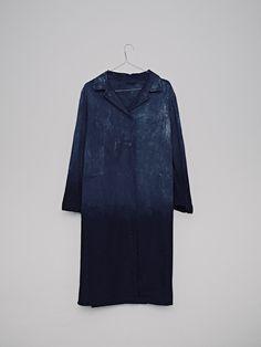 Overcoat | Workwear | Duster | Blue indigo