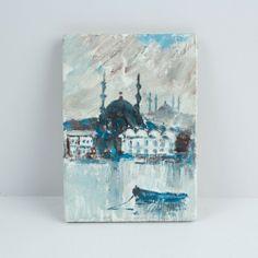 The Painting Magnet Of Eminönü Magnets, Handmade, Painting, Art, Art Background, Hand Made, Painting Art, Kunst, Paintings