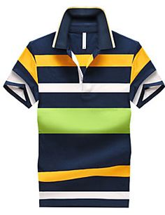 Buy from us Men's Style Polo Shirts Summer spring A cotton Casual Striped Slim. Get a discount for the entire collection Men's Style Polo Shirts . Polo 2015, Mens Polo T Shirts, Shirt Men, Men's Polos, Men's Shirts, Moda Emo, Striped Polo Shirt, Matches Fashion, Casual Shirts