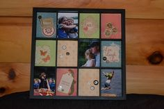Who has all day to preserve their memories? Pour a glass and find an hour, a Scrappy Hour! Photo Frame Prop, Preserve, Tray, Scrapbook, Memories, Display, Paper, Cards, Home Decor