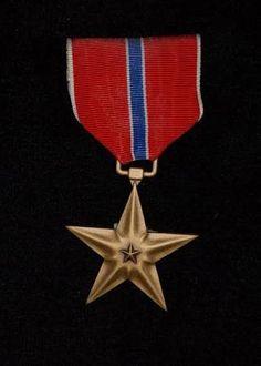 Bronze Star (unissued). Coleção pessoal.
