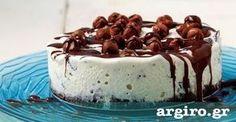 Τούρτα παγωτό με μωσαϊκό από την Αργυρώ Μπαρμπαρίγου | Συγκλονιστική συνταγή που θα ξετρελάνει τους πάντες. Πλούσια βάση μωσαϊκού με αφράτο παγωτό βανίλιας Greek Recipes, Tiramisu, Pudding, Ethnic Recipes, Desserts, Food, Pizza, Kitchen, Milk