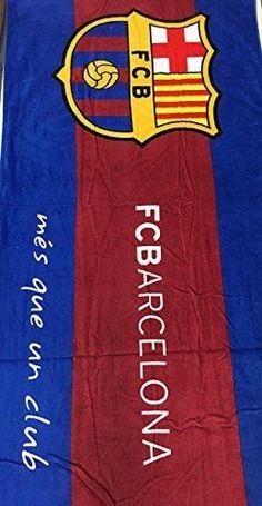 Mes Que Un Club FC Barcelona Soccer Team Beach Towel Fcb-2  376378f4a0b