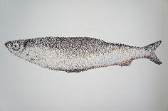 Siklöja av Ulrika Kullenberg - Pointillism