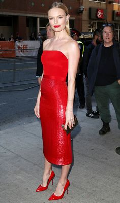Kate Bosworth Wearing Hugo Boss at Still Alice Premiere at 2014 Toronto International Film Festival