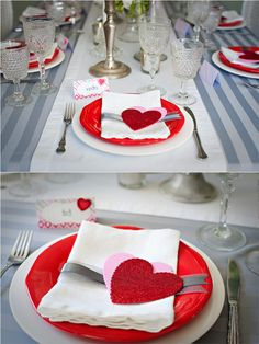 Cute place settings.