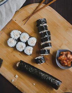 Chamchi Kimbap Recipe |