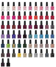CND Vinylux Fall 2013  The latest nail polish innovation for natural nails.  Long wearing .  No base coat.  Uses its own special Vinylux Topcoat.   I'm having great results in the salon...My clients ❤it...They tell me that this truly DOES last .