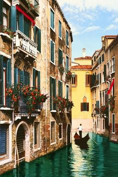 #Venice painting