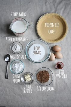 Easy Chocolate Cream Pie Recipe - love the picture and story, and looks super easy with store bought perfection? Gotta try this.