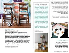Emily Humphrey Lampshade Collection - Locate, The Place, Jan Filming Locations, Textile Design, Interior Design, Storage, Shopping, Collection, Home Decor, Nest Design, Purse Storage