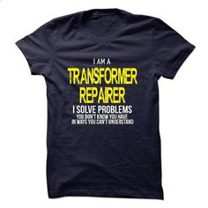 I am a Transformer Repairer - #sweatshirt embroidery #sweatshirt design. CHECK PRICE => https://www.sunfrog.com/LifeStyle/I-am-a-Transformer-Repairer-18604464-Guys.html?68278