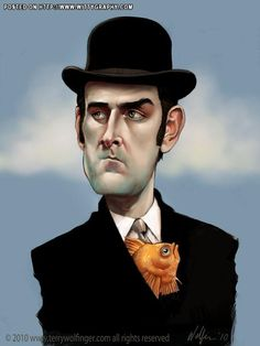 John cleese caricatures pinterest sales tax 15 years and