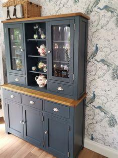 Westcote Blue Dresser - The Cotswold Company Dresser Design, Kitchen Table Makeover, Revamp Furniture, Diy Furniture Easy, Modern Kitchen Dresser, Kitchen Dresser, Dining Room Dresser, Dresser Decor, Refinishing Furniture