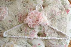 Beautiful Embellished Clothes Hanger by Jennelise by Jenneliserose