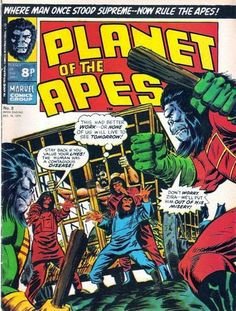 Marvel UK. Planet of the Apes #8.
