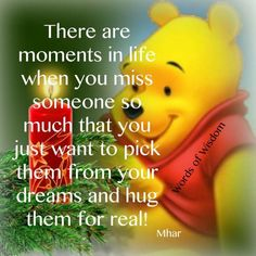 Pooh Missing someone- reminds me of my mom. Since pooh was her favorite. Winnie The Pooh Quotes, Winnie The Pooh Friends, Pooh Winnie, Piglet Quotes, Christopher Robin Quotes, Miss You Dad, Missing Someone, Missing Her, Life Quotes Love