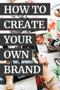 Learn how to create your own brand. What branding is. What the difference is between branding and marketing. How to start creating your own brand identity design. Personal Branding, Social Media Branding, Branding Your Business, Business Goals, Business Marketing, Content Marketing, Online Marketing, Business Tips, Corporate Branding