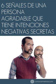 6 señales de una persona agradable que tiene intenciones negativas secretas #mente #autoayuda
