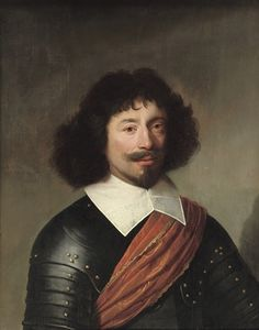 Portrait of an officer by Jacob Gerritsz Cuyp