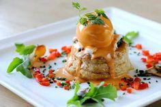 Mushroom & Spinach Vol-au-Vent