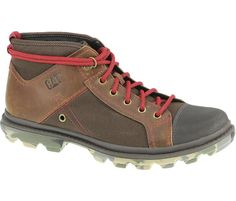 Mens Runyan Mid Boot in Brown, $90,  #CatFootwear #SS14