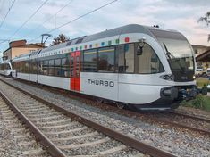 Thurbo GTW RABe 526 abgestellt am in Kreuzlingen Swiss Railways, Bahn, Switzerland, Pictures
