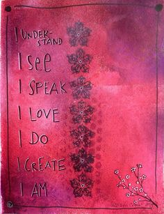 Art Journal pages #chakras
