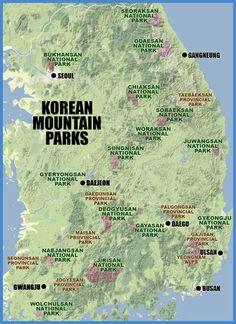 A guide to hiking Korea's mountains.