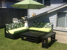 34 Simple and Easy Homemade Porch Furniture Design Ideas #PorchFurniture