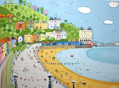 Janet Bell. Gorgeous artwork, the Gallery in Beaumaris, Anglesey is well worth a visit