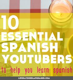 YouTube is packed with videos to get you practising Spanish. Here's 10 of our favourite Spanish YouTubers to help you learn Spanish. Click through to read more! #learnspanish