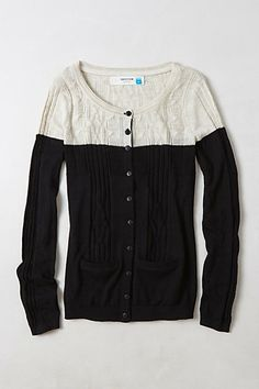 Climbing Cables Cardigan #anthropologie ~ I think we're gonna be pallies little cardigan!