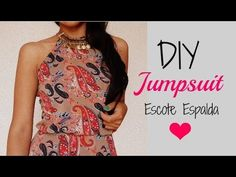 DIY JUMPSUIT - ESCOTE ESPALDA - Madeleyn ♡ - YouTube