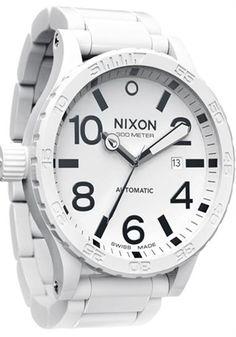 Sick White Nixon Watch....
